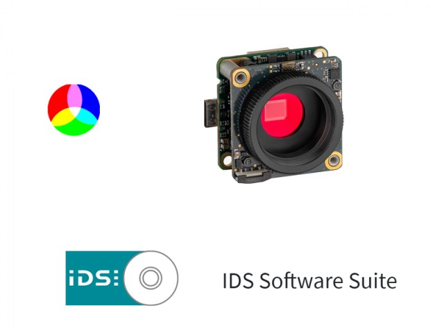 IDS Software Suite 彩色相機 (C Mount)