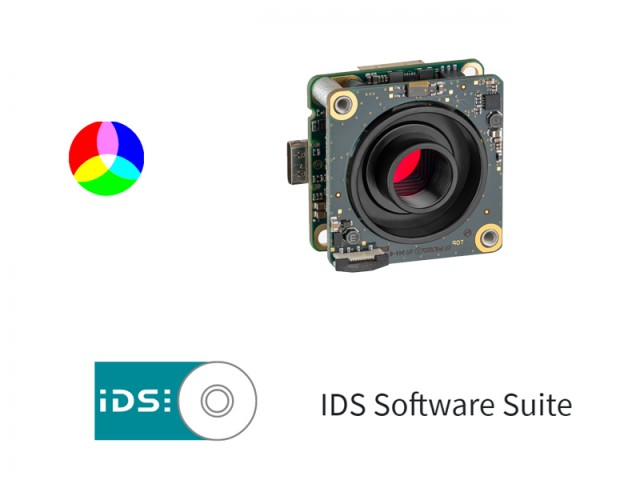 IDS Software Suite 彩色相機 (S Mount)