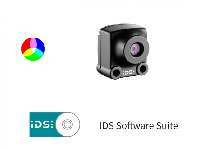 IDS Software Suite 彩色相機